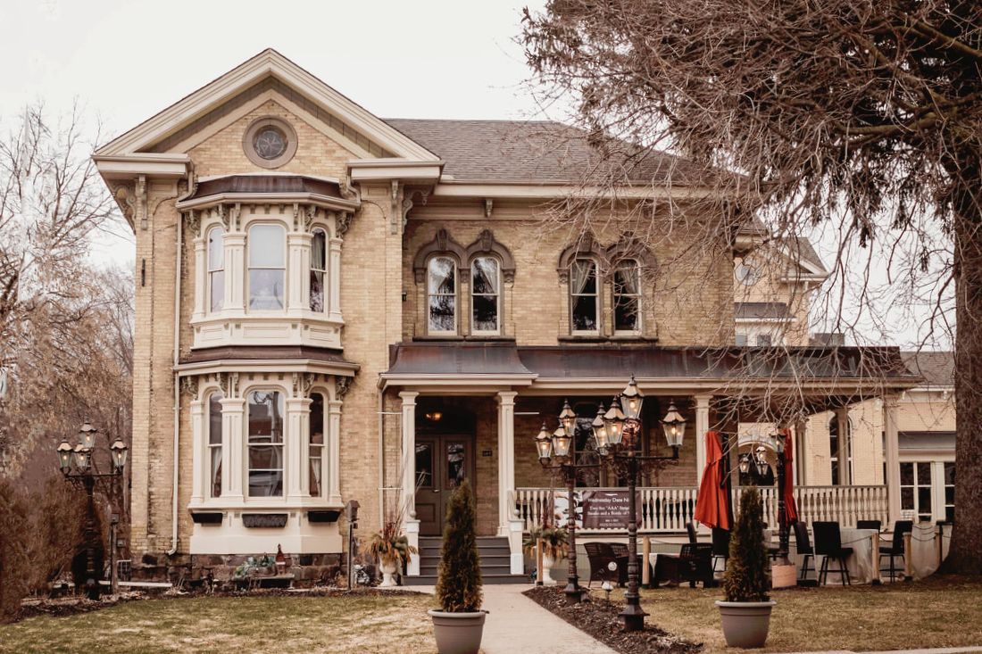 Front view of Puddicombe House in New Hamburg, Ontario taken by Photography From The Soul